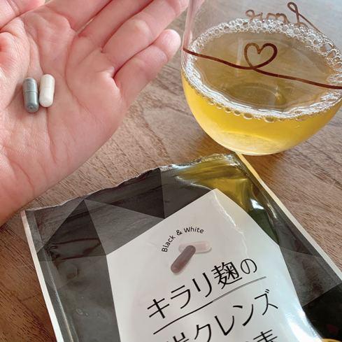 飲み方 キラリ麹の炭クレンズ生酵素